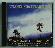 CD Gubener chiese musica II Mozart Requiem Kantorei Guben Vorrath Song VISION 96