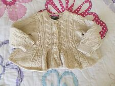 Baby Gap baby girl cardigan sweater 6-12 months old