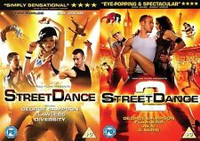 StreetDance Complete Collection Part 1 2 Dania Pasquini, Max Giwa, NEW UK R2 DVD