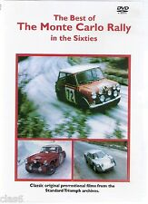 Monte Carlo Rally in the 60s DVD Mini Ford Cortina Spitfire Citroen Renault *NEW