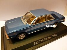 Voiture 1/43 Hachette NOREV FIAT : 130 coupé 1971