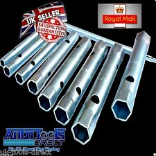 8pc Box Spanner Set Metric Plumbers Back Nut Wrench Set & TOMMY BAR
