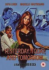 Yesterday, Today And Tomorrow 1963 (DVD, 2009) Sophia Loren