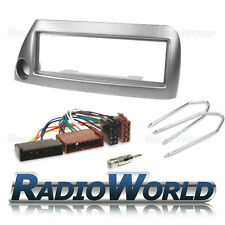 Ford KA MK1 Stereo Radio Fascia Facia Panel Fitting KIT Surround Adaptor Silver