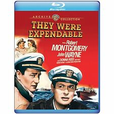 THEY WERE EXPENDABLE  -  BLU RAY - Sealed Region free for UK