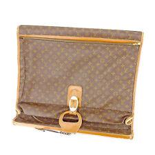 Auth Rare Louis Vuitton Garment Bag Monogram unisexused J18387