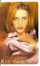 RARE / CARTE TELEPHONIQUE - GILLIAN ANDERSON X FILES / PHONECARD LIMITED EDITION