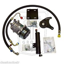 Early 67 MUSTANG 289 V8 HiPo AC Compressor Upgrade Kit A/C Air Conditioning 1967