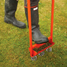 "Sheen Lawn Aerator ""Hollow Tine"" - Premium Quality Made In The UK"