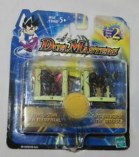 Duel Masters Figure Set Twin Pack. New Sealed. 2003 Hasbro Rare