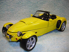 1/18 1998 PANOZ AIV V-8 ROADSTER IN BRIGHT YELLOW BY AUTO ART NO BOX.