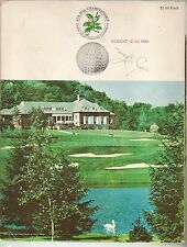Tony Lema Signed Autographed 1965 PGA Program - JSA LOA