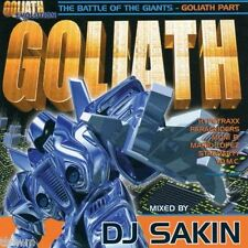 DJ Sakin - Goliath 6 - The Battle Of The Giants - CD MIXED - TRANCE HARD TRANCE