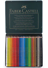 Faber Castell Polychromos Lápices 24 Color Tin.