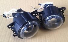 Ford Falcon FG XR FOG LAMPS pair LH+RH projector light with angel-eyes rings