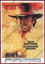 CLINT EASTWOOD 01 IL CAVALIERE PALLIDO ATTORE ACTOR FILM CINEMA MOVIE Cartolina