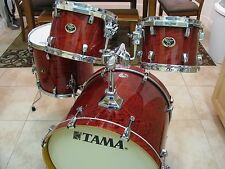 Tama Silverstar 4 Piece Drum Kit Birch Shells  FREE BAGS BIN!