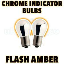 2 Chrome Indicator Bulbs 382 BMW 7 Series E38 1994-02 s