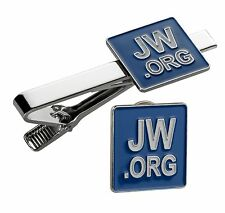 JW.ORG LAPEL PIN TIE CLIP SET WITH GIFT BOX