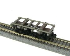 Nn3 Scale Log Car Frame with Rails Kit (one piece) by Showcase Miniatures (5011)