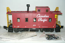 Aristo Craft Trains ART-42115 Long Steel Caboose der CP, Spur G, NEU&OVP
