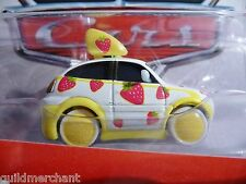 DISNEY Pixar CHASE Tuners ICHIGO Limited Edition CARS White w/Red Strawberries
