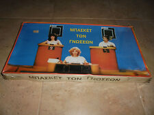 """VTG 80's Greek board game """"Knowledge of Basketball"""" made in Greece by Louizos!"""