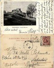 Campobasso, castello Monforte, viaggiata 1906