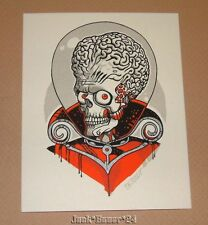 Tyler Stout Mars Attacks Poster Print Handbill Stickers Art Pros Cons