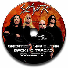 SLAYER STYLE ROCK METAL GUITAR MP3 BACKING TRACKS CD ANTHOLOGY LIBRARY
