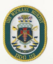 US NAVY PATCH - DDG 112 USS MICHAEL MURPHY - NAVY SEAL MEDAL OF HONOR RECIEPIENT