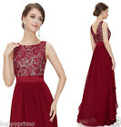 New Long Chiffon Wedding Evening Formal Party Ball Prom Bridesmaid Dresses 8217