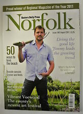Eastern Daily Press Norfolk Magazine. Issue 148. August 2011. Vibrant Voewood.