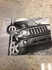 2013 Jeep Patriot Accessories 8-page Original Sales Brochure