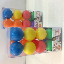 Lot of 2- Bright Starts Having A Ball Toys, Bunch of Balls, replacement balls