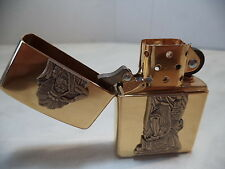 ZIPPO ACCENDINO LIGHTER INDIAN CIGAR BRASS  B 136 VERY RARE NEW DISCOUNT