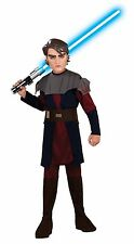 OFFICIAL LICENSED STAR WARS CLONE WARS ANAKIN SKYWALKER BOYS COSTUME SIZE SMALL