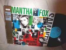 SAMANTHA FOX-MEGAMIX ALBUM-JIVE ALI-25004 JAPAN W/OBI + INSERT 1-A-1 NM/VG+ LP
