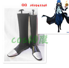 Fairy Tail Jellal Fernandes Black Cosplay Shoes Boots S008