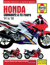 Haynes Repair Manual 2070 - Honda CBR600 F2 & F3 Fours (1991-1998)