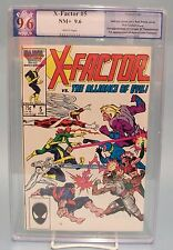 X-Factor #5 PGX 9.6 not CGC Marvel Comics 1st Stinger & Timeshadow, Aposalypse