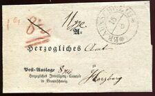 BRAUNSCHWEIG 1841 ca POSTAUSLAGEBRIEF nach HARZBURG(C0946