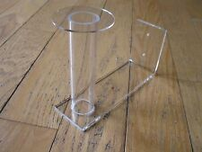 Wall Mount Clear Acrylic WW2 & Civil War Kepi Hat Helmet stand