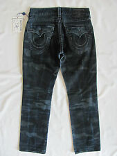 True Religion Straight w/ Flaps Jeans - Laser Resilient Camo -Size 31 - NWT $268