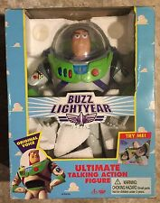 "RARE ORIGINAL 12"" 1995 BUZZ LIGHTYEAR TOY STORY FIGURE, THINKWAY 23542 (Disney)"