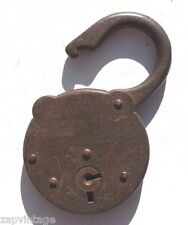 Vintage Steampunk Antique Metal Yale Junior Key Lock #455 USA (No Key)