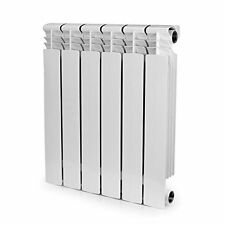 Aluminum Heating Radiator 22x18x3,6 Section Bimetal & Installation Kit