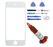 White front outer glass lens screen iphone 5 5S 5C SE replacement LOCA Glue Tool