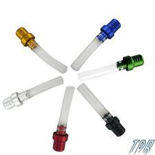6pcs Colorful Gas Fuel Cap Valve Vent Breather Hose Tube Dirt Bike Tank A2