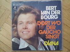 Bert van der Bourg - Dort wo der Gaucho singt 7'' Single